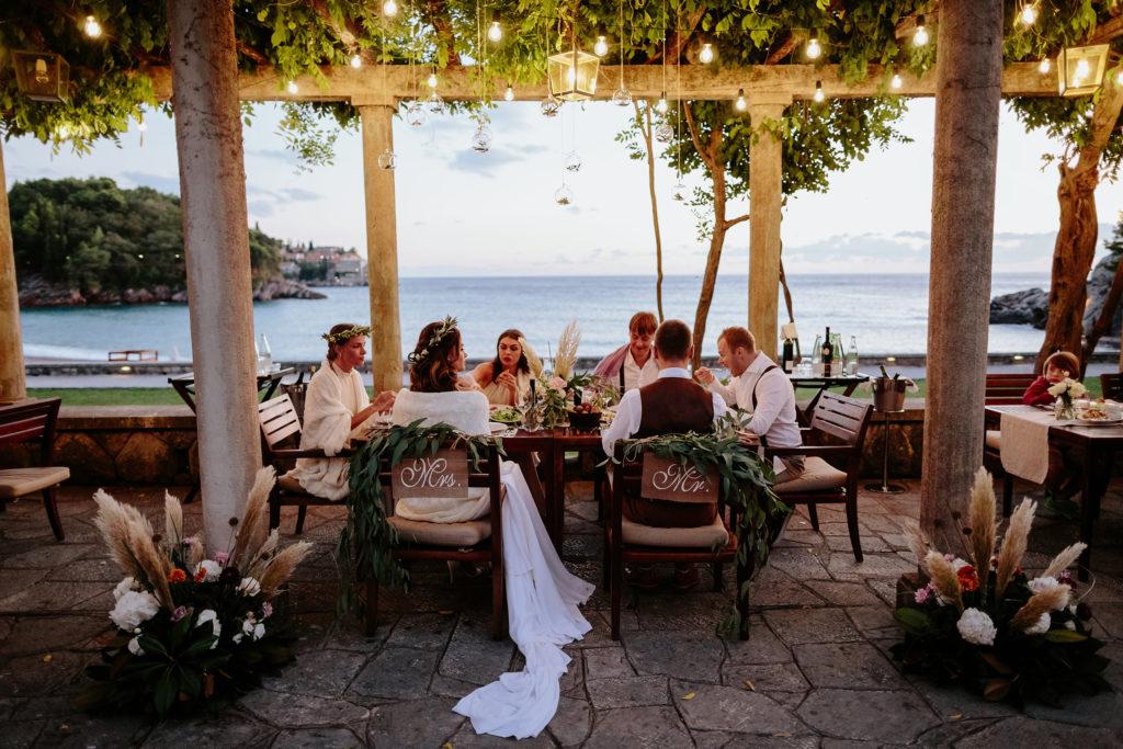 milocer wedding aman montenegro