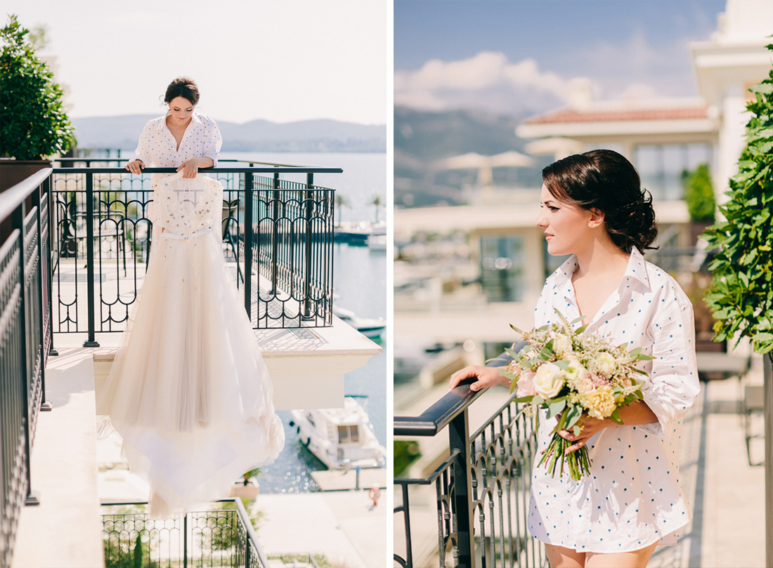 wedding in tivat porto montenegro